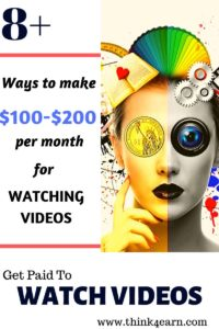 earn money watching videos