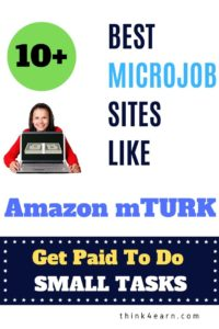 microjob sites like mturk