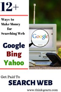 get paid to search web