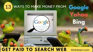 make money searching web