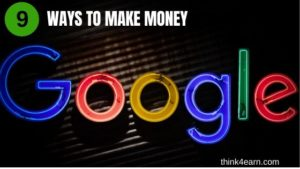 make money from google