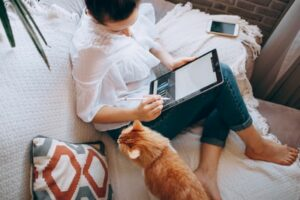Comfortable work from home jobs for self learners